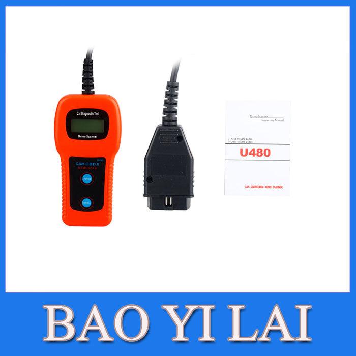 U480 OBD2 CAN BUS & Engine Code Reader U480 Code Reader Scanner(China (Mainland))