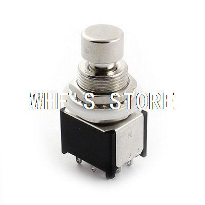 Electric Guitar Part 12mm Thread 9-Pin Through Hole 3PDT Locking Switch(China (Mainland))