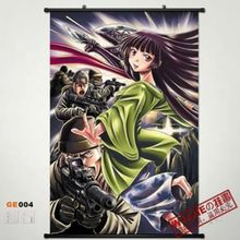 GE004 Anime Home Decor Gate: Jieitai Kanochi nite 60*80 Poster Wall Scroll