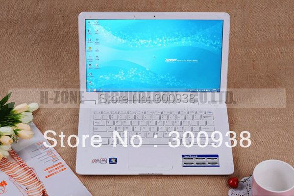 Free shipping 2015 cheapest laptop 14 inch 2G RAM 160G HDD Win 7 WIFI Dual core 2.41ghz Webcam brand new laptop computer(Hong Kong)
