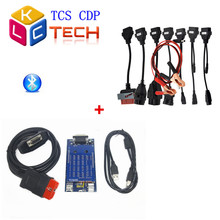 2015 Factory Price TCS CDP PRO +Bluetooth+8 Car Cables NEW VCI 2015 R3 Diagnostic Tools CDP Pro Free Ship(China (Mainland))