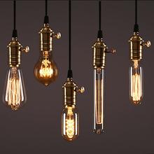 Buy Edison Bulb E27 220V 40W ST64 A19 T45 G80 G95 G125 Incandescent filament bulb lighting Retro Edison Light Bulb for $1.22 in AliExpress store