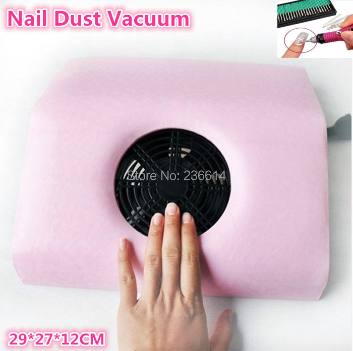 Free shipping fashion nail dust vacuum collector nail art machine cleaner for salon shop(China (Mainland))