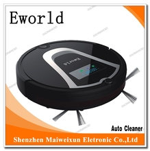 Eworld Robotic Vacum M884  2016 New Products Home Appliance Robot Vacuum Cleaner with Mop Cleaning and Auto-Recharging(China (Mainland))