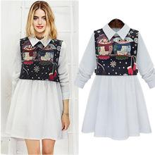 New 2014 spring summer fashion women's dresses round neck sleeveless Slim dress women Free shipping