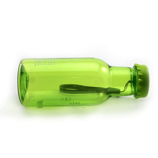 1X Unbreakable 350ML Green Leak-proof Sport Travel Cycling Water Cup Reusable Soda Bottle - isfang store