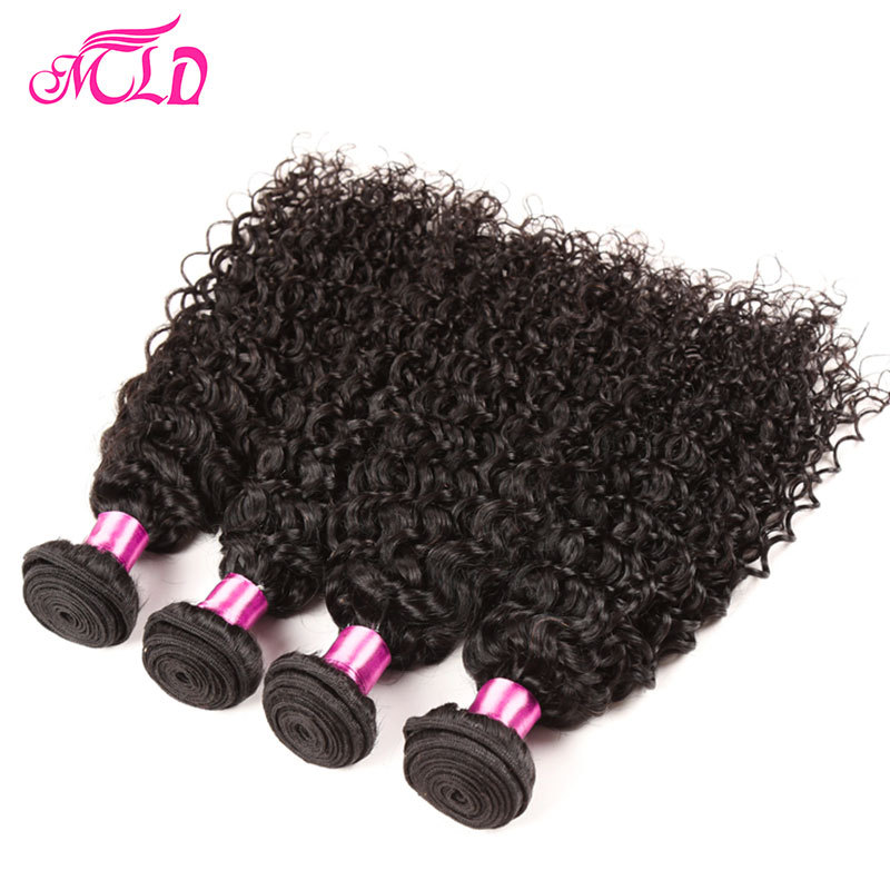 Brazilian Kinky Curly 7A Brazilian Virgin Hair Curly #1B Brazilian Virgin Hair 4 Bundles Virgin Brazilian Wavy Hair Human Hair