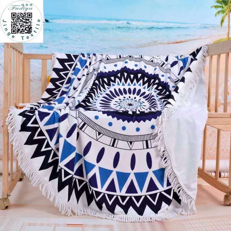 ronde serviettes de plage achetez des lots petit prix. Black Bedroom Furniture Sets. Home Design Ideas
