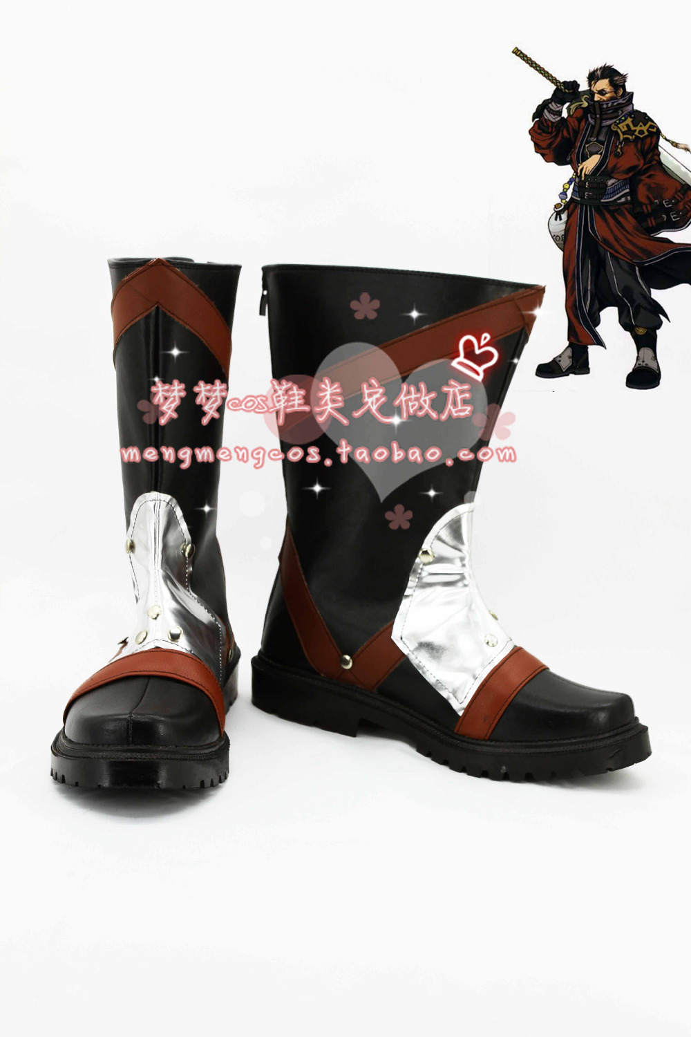 auron boots anime shoes custom made