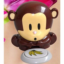 Free shipping, cartoon monkey Nail Dryer, Manicure nursing tool(China (Mainland))