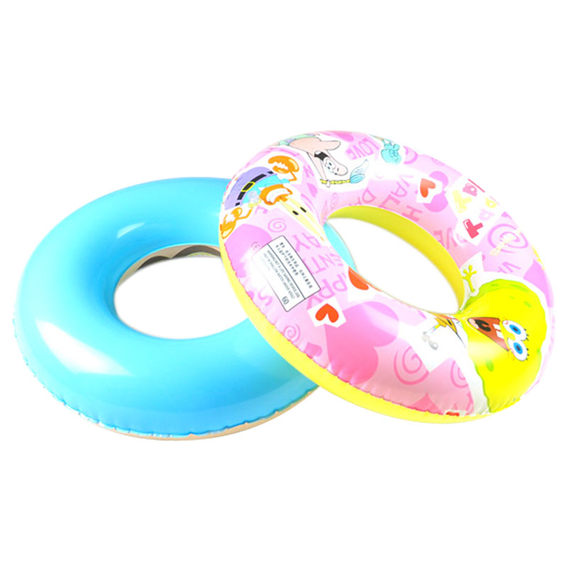 Sweet Cartoon Pattern Swimming Ring Inflatable Water Wing Lap For Swim Beginners Seaside Beach Accessories os185(Hong Kong)