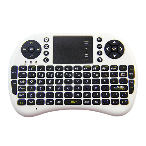 Mini Portable 2.4GHz Wireless Touchpad Keyboard Mouse Can carve Russian steelseries dota teclado 2 - Concession Stand store