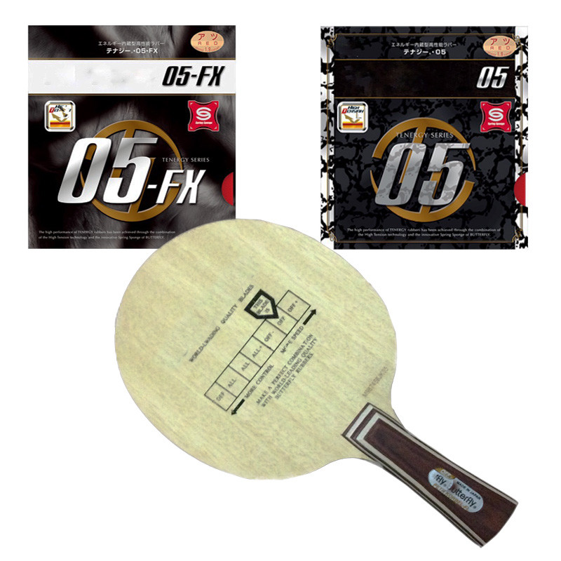 Korbel 30271 Table Tennis Blades Paddle Bat Ping Pong Racket Tenergy 64 & 05FX & T80 & T05 YASAKA & MARKV & DHS Rubber(China (Mainland))