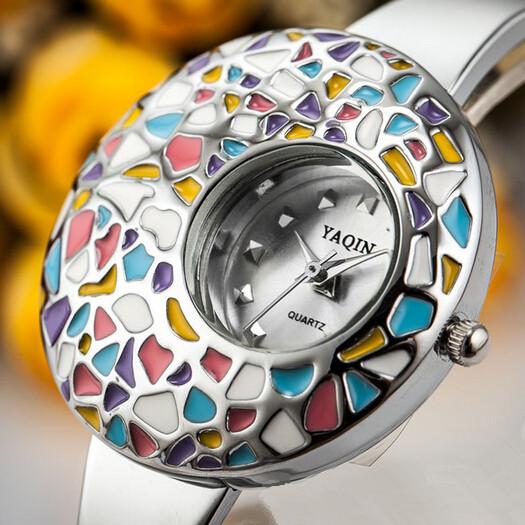2014 New Luxury Brand Women dress Watches Top Quality Slim Bracelet Quartz Watch Female Clocks Fashion Ladies Reloj Wholesale<br><br>Aliexpress