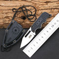 Necklace faca pocket Knife Fold Hunting camping Tactical Rescue Surrival spyderco ganzo Peeler edc knives Outdoor
