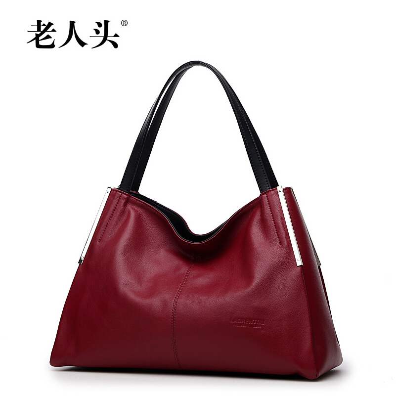 LAORENTOU The new 2015 cowhide portable air fragrance one shoulder inclined shoulder bag ling chain ladies handbags(China (Mainland))