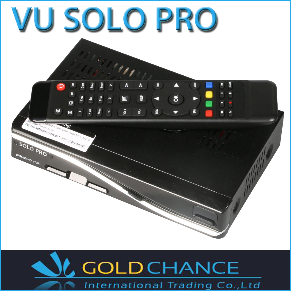 VU SOLO PRO new satellite Vu solo receiver TV signal reciever HD Automatic PAL/NTSC conversion(China (Mainland))