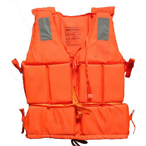 New Orange Adult Foam Flotation Swimming Life Jacket Vest With Whistle<br><br>Aliexpress