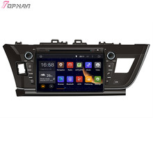 """9"""" Quad Core Android 5.1 Car GPS For TOYOTA Corolla 2013- With DVD Radio Stereo Multimedia 16Gb Flash Mirror Link Free Shipping"""