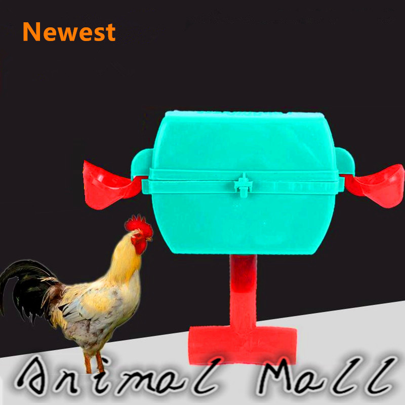 10pcs Chicken Automatic waterers New drinking cups Dual water bowl Chicken tools Waterer Animal Feeder(China (Mainland))