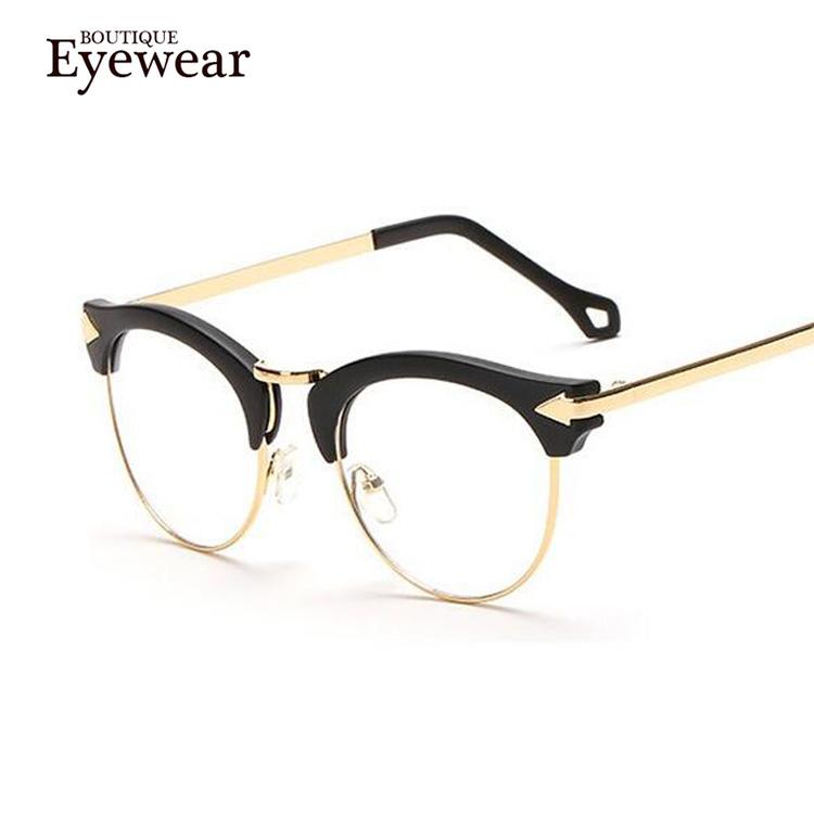 Retro Designer Eyeglass Frames : BOUTIQUE Vintage Glasses Women Brand Designer Retro Frame ...