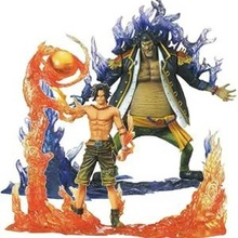 Buy One Piece Ace VS Marshall DXF Figure Marshall D Teach Monkey D Luffy Portgas D Ace PVC Action Figure Toy Collection Model Gift for $32.82 in AliExpress store