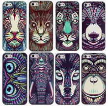 Роскошные 3D печать животных чехол для Apple , iPhone 5 5S жесткий чехол для iphone5S 2015 новое поступление кожа п . я .