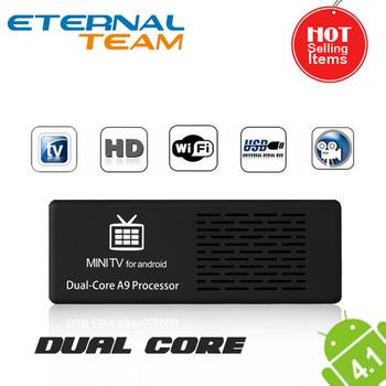 RK3066 Dual Core MK808 Mini PC  TV BOX 1GB DDR3 ROM 8GB RAM Android 4.1 mini tv dongle