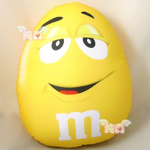 Cute Microbead Pillow : Aliexpress.com : Buy M&M's Chocolate Microbead Cushion yellow bean Pillow Lovely Cute M&M ...