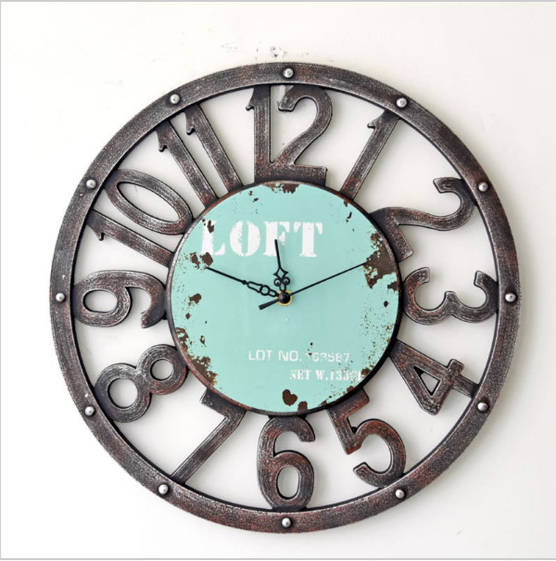 achetez en gros d coratif en bois horloge murale en ligne. Black Bedroom Furniture Sets. Home Design Ideas
