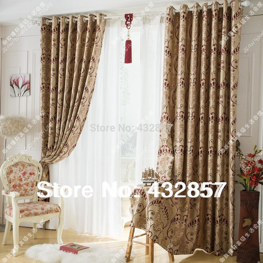 Vergelijk prijzen op luxury curtain   online winkelen / kopen lage ...