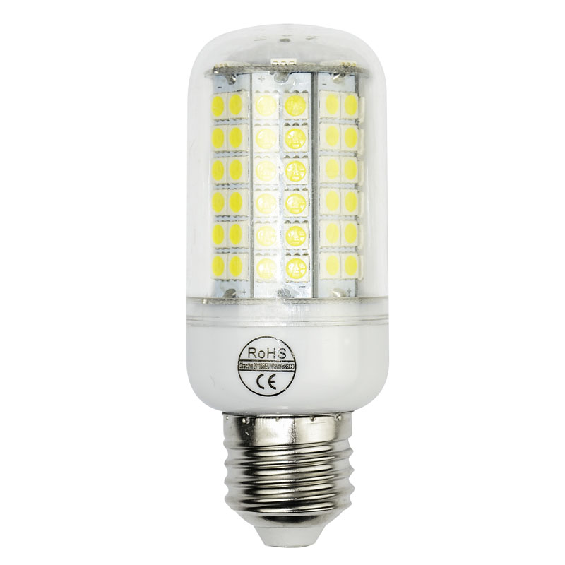 SMD 5050 E27 E14 220V/110V LED Bulb light 30leds 48leds 70leds 96leds 9w 12w 20w 25w spotlight 5050 lampada led candle lighting<br><br>Aliexpress