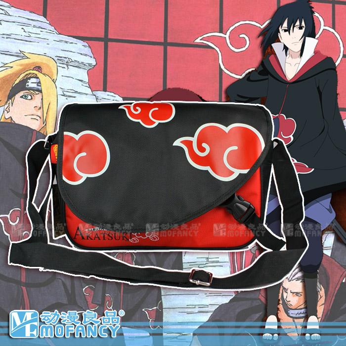 NEW Japanese Anime Cartoon NARUTO Sasuke Messenger Bag/Kids Cartoon School Bag(China (Mainland))