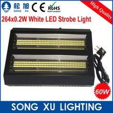 4pcs/lot Good quality 264*0.2w 60W LED Double Head Strobe Light Stage Equipment/SX-SL264B(China (Mainland))