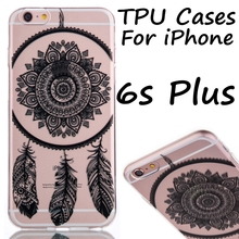 Soft TPU Mobile Phone Cases Case For iPhone 5C 5S 6 6S Plus Phone Back Cover Bags