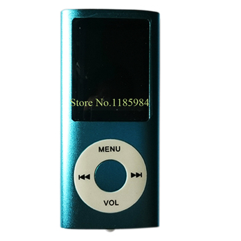 """Hot Fashion 2015 New Slim Mini 1.8"""" 4th LCD MP4 Player With FM Radio Video With Micro SD Card/TF Card Slot+Speaker Free Ship 6B2"""
