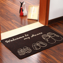 Floor MATS Brand Kitchen Carpet Toilet Tapete Water Absorption Non-slip Rugs Porch Doormat Para Quarto Casa And Free Gift WXT768(China (Mainland))