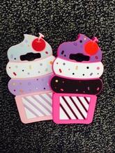 Cute 3D Delicious Ice Cream Cartoon Capa Coque Soft Silicone Phone Cases Cover Samsung Galaxy J5 J7 A5 E5 A7 2015 2016 - Shenzhen BaoJiaLai Tech Co.,LTD store