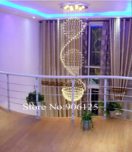 H78 inches Spherical Crystal Foyer Chandelier Lighting Modern Crystal Chandelier Guaranteed 100%+Free shipping!(China (Mainland))