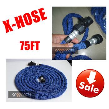 2013 Hot!!Free shipping Pocket hose expandable flexible hose USA Stantard 75FT Garden hose,(As Seen On TV ) Drop shipping