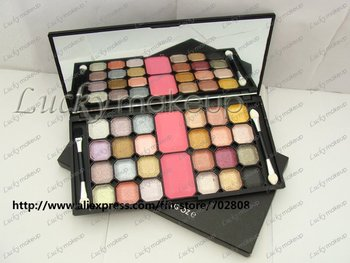 New Makeup 24 colors Eyeshadow Palettes & 2colors Blusher 4differ colors eye shadow 50g(24 pcs/lots)24pcs
