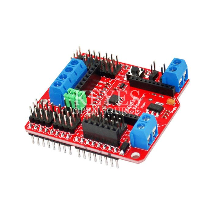 Free shipping! 5pcs/lot XBee Sensor Expansion Board V5 for Arduino RS485 BlueBee Bluetooth SD Card Module Interface(China (Mainland))