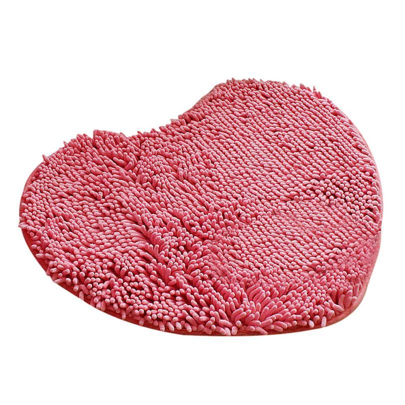 New qualified Soft Shaggy Non Slip Absorbent Bath Mat Bathroom Shower Rugs Carpet dec31(China (Mainland))