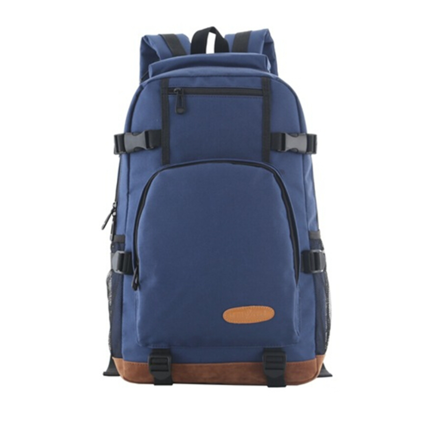 High school backpack school bags for teenagers boy blue oxford fabric big book bag casual travel bag boys 2015 fashion schoolbag(China (Mainland))