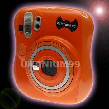 Polaroid Fuji Fujifilm Instax Mini 25 Camera - Halloween Pumpkin Limited Edition Instant Film photo Camera