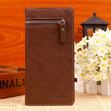 good quanlity long standard designer wallet men PU material brand wallets men interiorslot pocket purse card