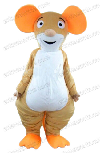 AM8054 Mouse Mascot costume advertising mascots adult carnival dress, Collge mascot, party costumes Fur mascot(China (Mainland))