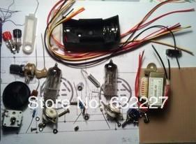 Tube Radio Kit DC two light kit CW SSB radio battery-powered shortwave receivers(China (Mainland))