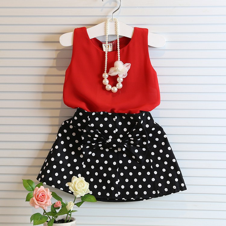 2015 New Summer Casual Girls Clothing Sets Bow Baby Girl Clothes Short Coat + Tutu Skirt Suit Children Clothing Set