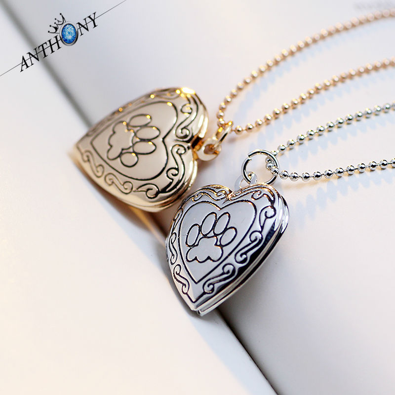 Romantic Valentine's Day Gift Love Heart Photo Locket Necklace Pendant 18K Gold Choker Charms Floating Lockets LOVE For Women(China (Mainland))